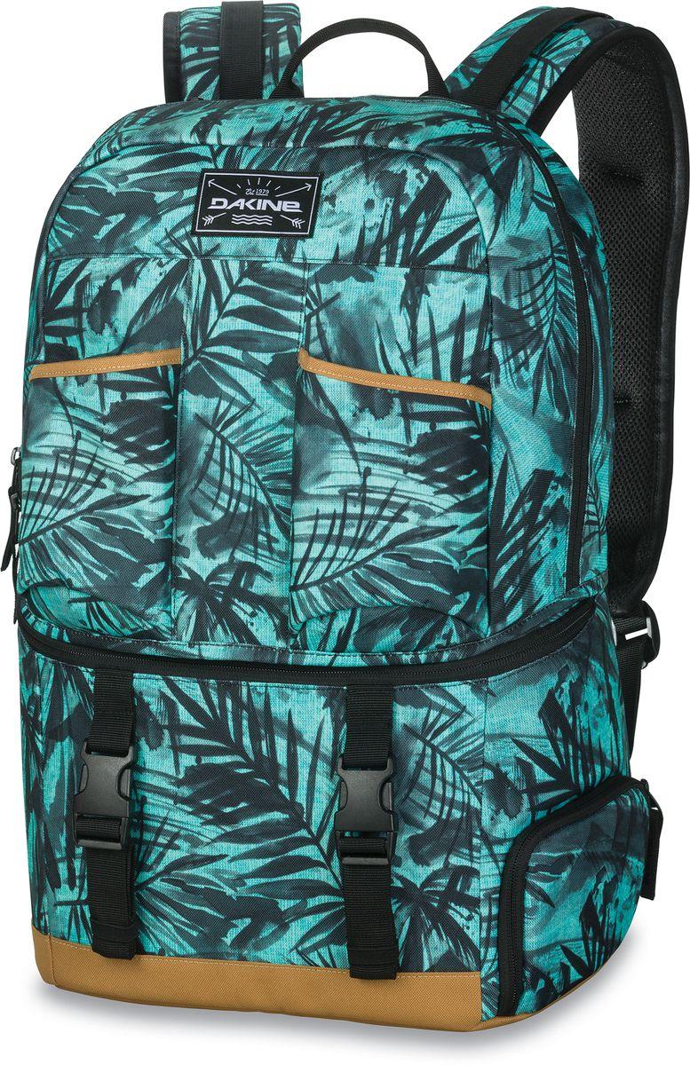 Рюкзак-термос Dakine Party Pack Painted Palm, цвет: бирюзовый, 28 л. 1000125200126939 10001252Рюкзак с отделением-термосом (для охлажденных напитков)