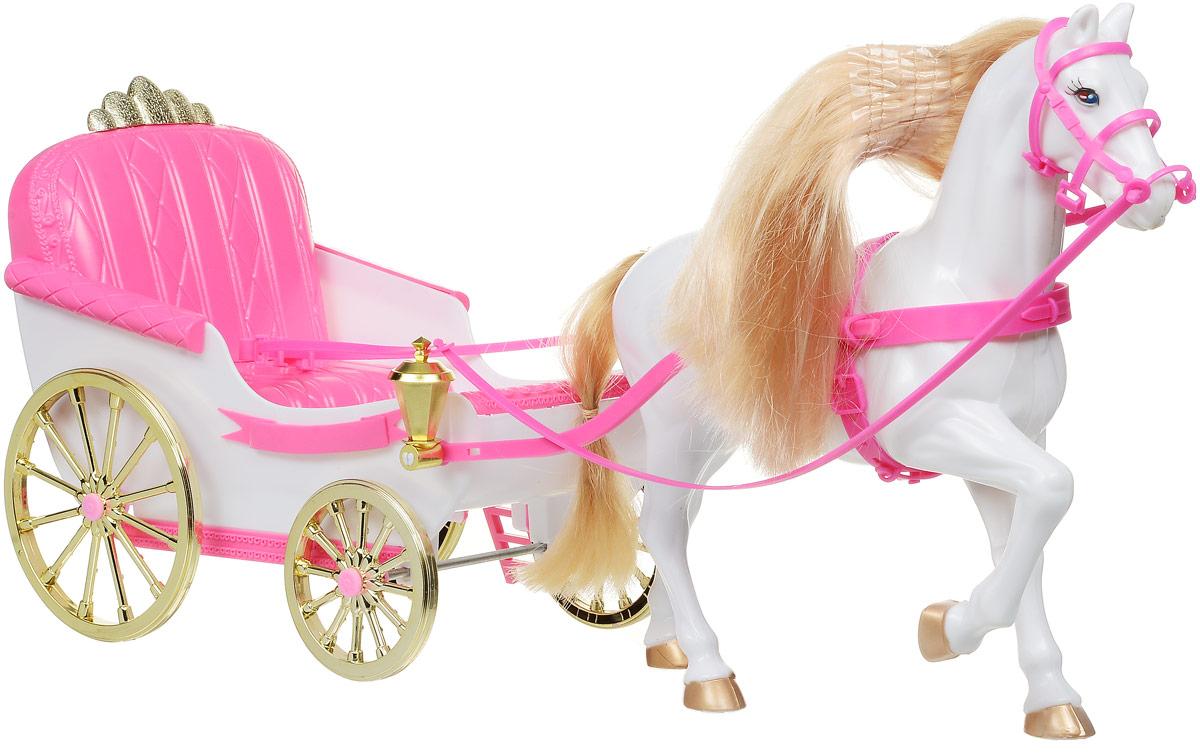 Gloria Игровой набор Карета с лошадью vivera карета принцесса