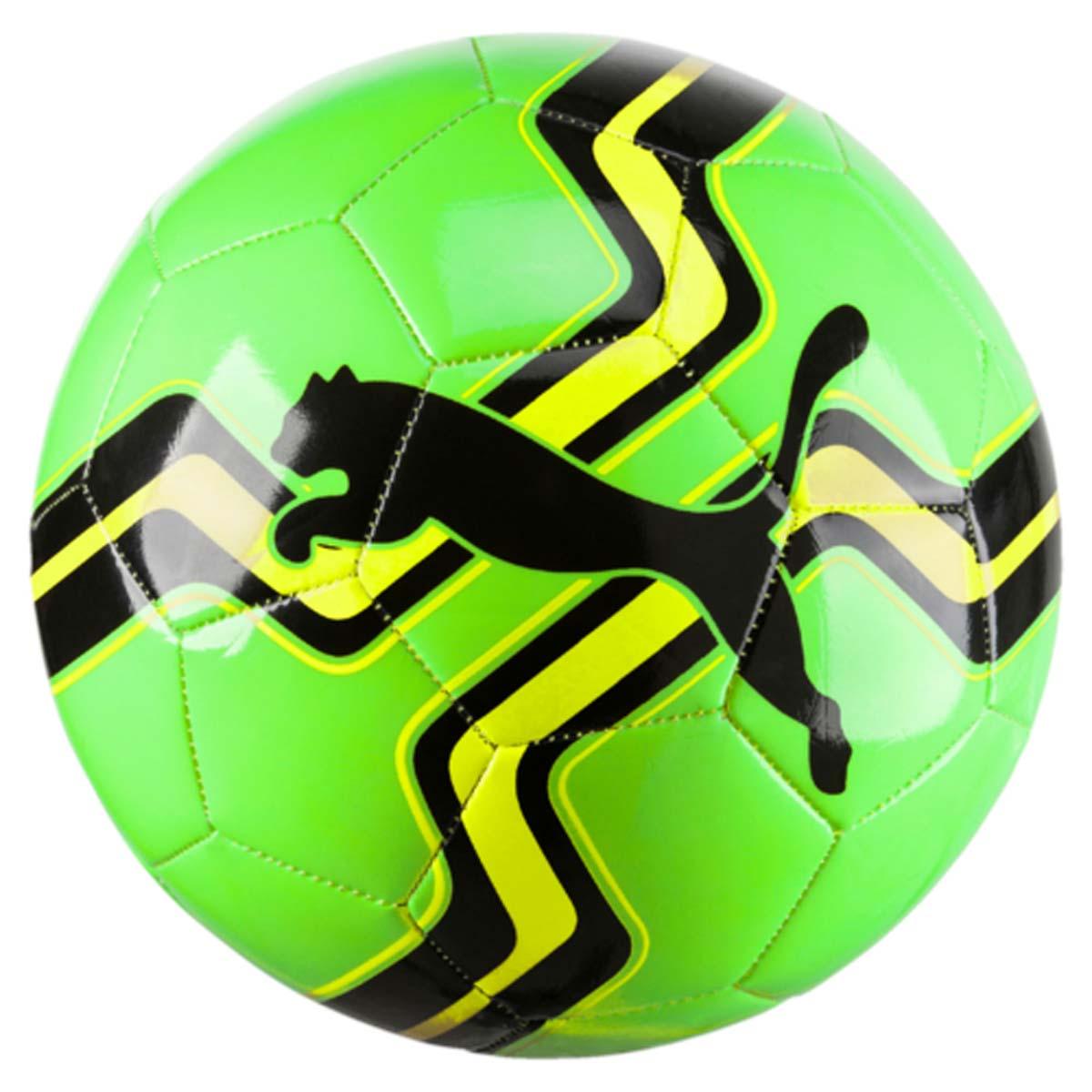 Мяч футбольный Puma Big Cat Ball, цвет: салатовый. 08275803. Размер 508275803