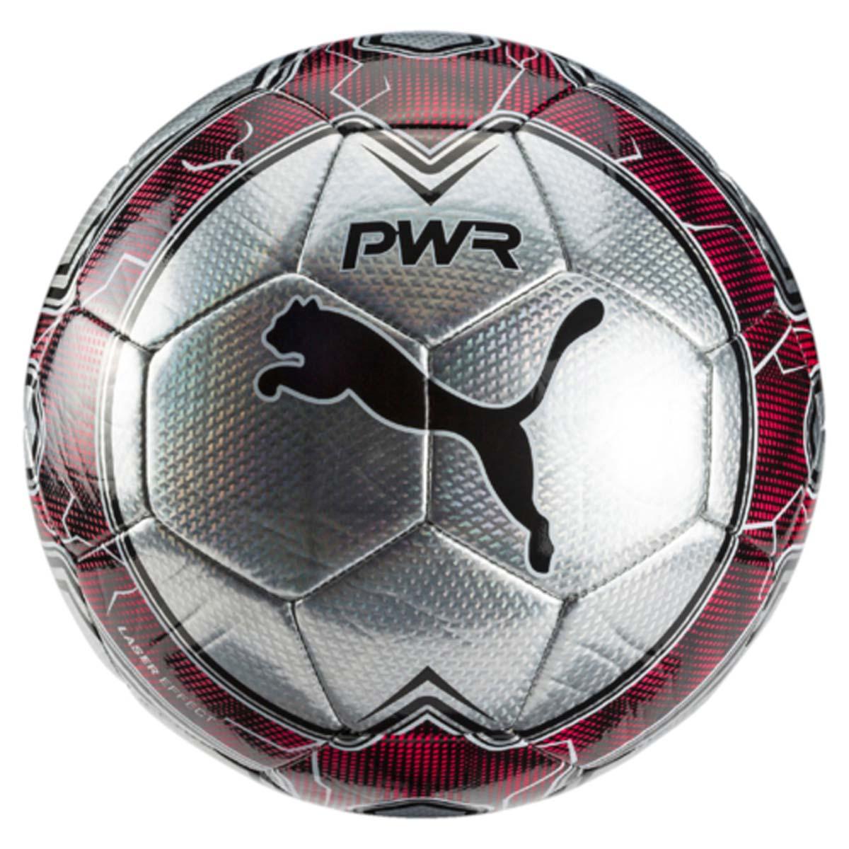 Мяч футбольный Puma Evopower Vigor Graphic 4, цвет: серебристый. 08273738. Размер 5