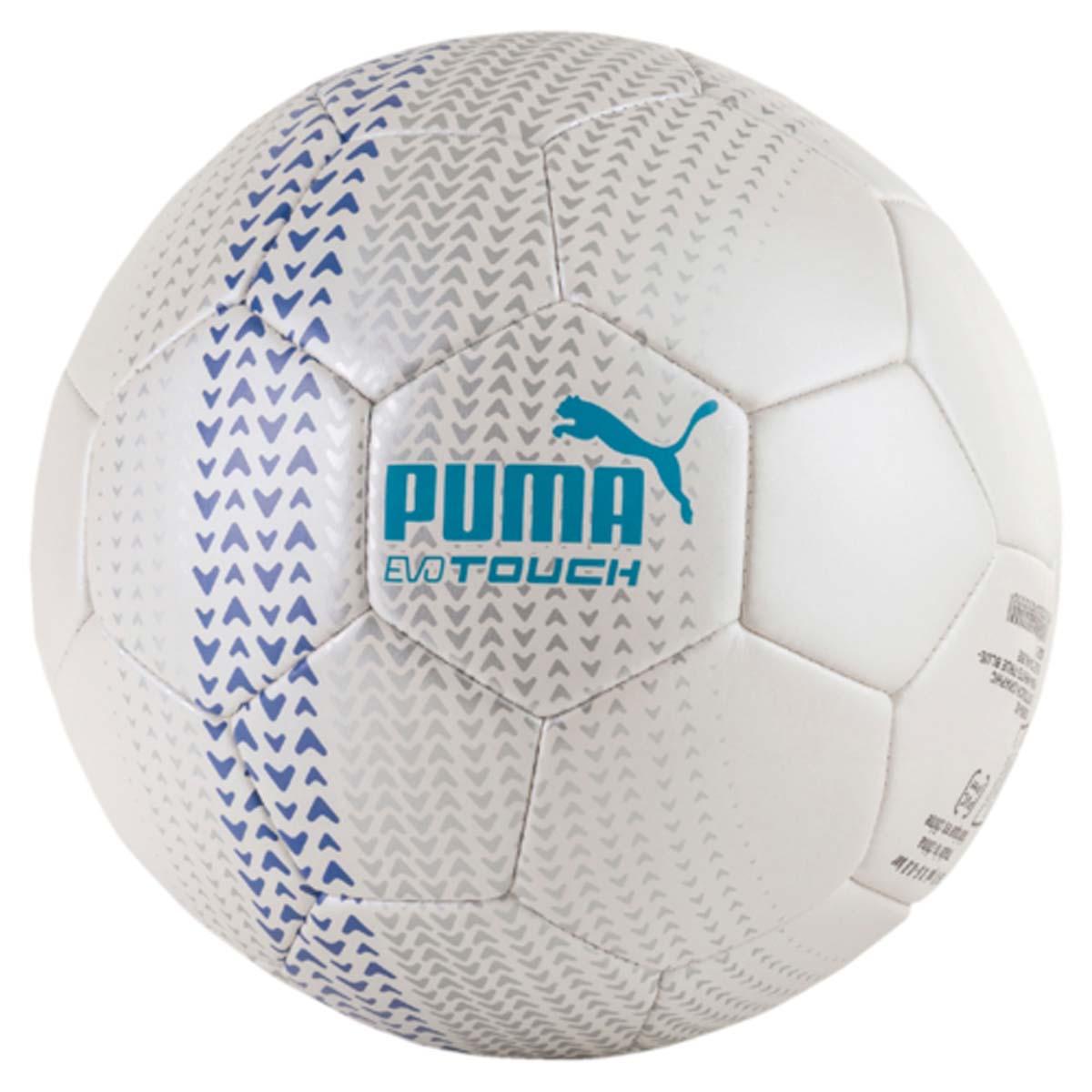 Мяч футбольный Puma Evotouch Graphic, цвет: белый. 08266502. Размер 5