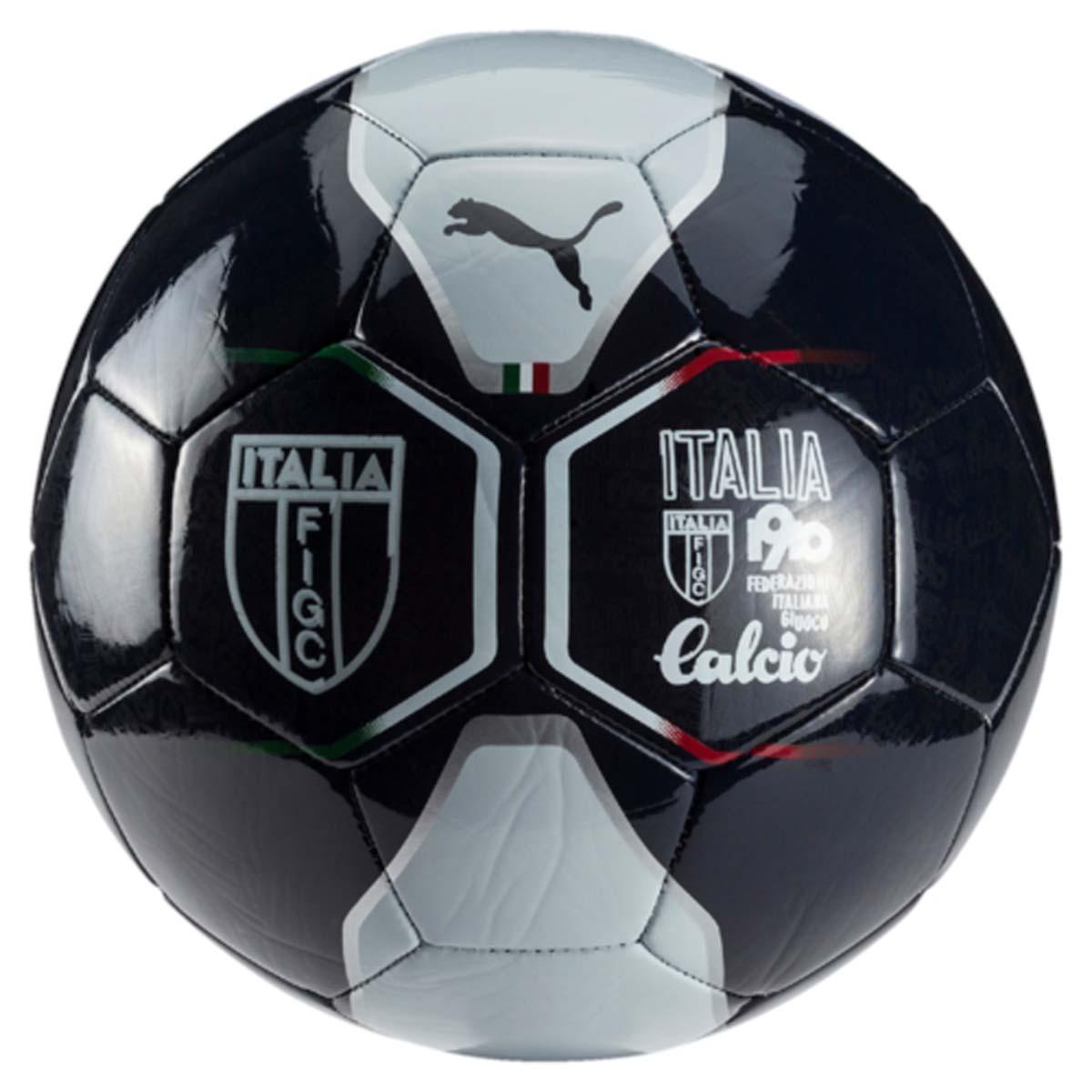 Мяч футбольный Puma Italia Fan Ball, цвет: синий. 08273801. Размер 508273801