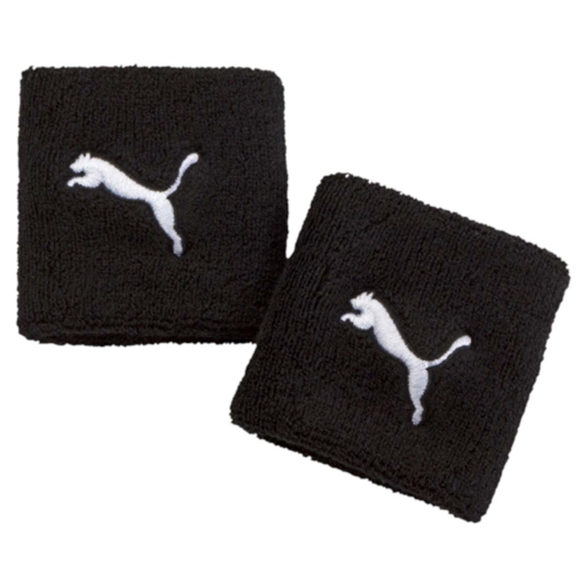 Напульсник Puma Tr Wristbands, цвет: черный, 2 шт. 05314701. Размер универсальный05314701Не стоит волноваться о лишней влаге, которая может помешать занятиям, с новыми напульсниками от Puma. Модель оформлена вшитым логотипом бренда.