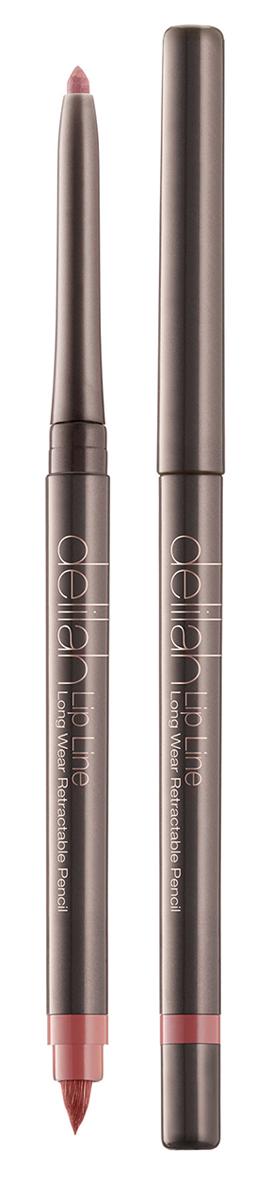 Delilah Карандаш для губ тон Naked, 0,312 грDLL3001Lip Line – это водостойкий карандаш для губ со встроенной кисточкой и точилкой. Он имеет мягкую и нежную кремовую текстуру. Его интенсивный цвет держится на губах до 12 часов не смазываясь и не тускнея. Оба его оттенка близки к натуральному цвету губ, поэтому их можно использовать с помадой или блеском любого цвета. Кисточка на другом конце карандаша снимается для доступа к точилке.