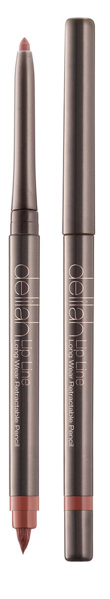 Delilah Карандаш для губ тон Secret, 0,312 грDLL3002Lip Line – это водостойкий карандаш для губ со встроенной кисточкой и точилкой. Он имеет мягкую и нежную кремовую текстуру. Его интенсивный цвет держится на губах до 12 часов не смазываясь и не тускнея. Оба его оттенка близки к натуральному цвету губ, поэтому их можно использовать с помадой или блеском любого цвета. Кисточка на другом конце карандаша снимается для доступа к точилке.