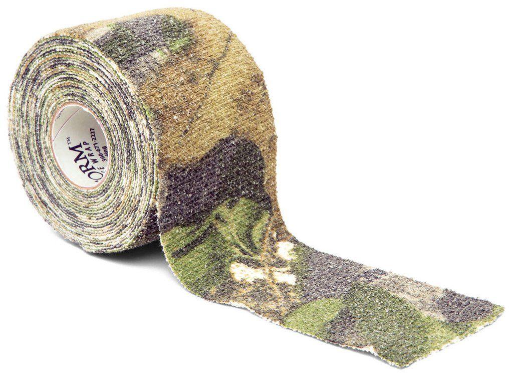 Камуфляжная лента McNett, цвет: листва/дерево19503Камуфляжная лента многоразовая McNett, цвет - листва/дерево. Арт. 19503 Применяется для защиты и маскировки ружей, оптических прицелов, биноклей, фонарей, ножей, фляг и другого снаряжения. Использование ленты позволяет избежать солнечных бликов от оружия, маскирует его, а также защищает от влаги, пыли, механических повреждений, царапин. Уменьшает шум при использовании и вероятность соскальзывания руки. Защищает руки от горячих и холодных поверхностей. Пропитанная латексом, эластичная тканая лента прилипает ко всем поверхностям, прекрасно обтекая их. Прочный и тянущийся материал принимает любую форму, всегда оставаясь на месте. Лента без клейкой основы: при необходимости легко снимается, не оставляет липких следов. Лента может быть использована повторно, что позволяет менять окраску камуфлируемых предметов в зависимости от времени года и вида местности. Не теряет своих свойств в воде и при низких температурах. В экстренных случаях может заменить эластичный бандаж (бинт)....