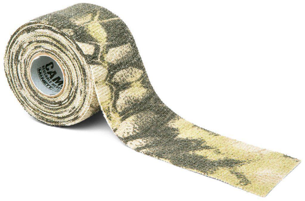 Камуфляжная лента McNett, цвет: Kryptek Highlander19550Камуфляжная лента многоразовая McNett, цвет - Kryptek Highlander. Арт. 19550 Применяется для защиты и маскировки ружей, оптических прицелов, биноклей, фонарей, ножей, фляг и другого снаряжения. Использование ленты позволяет избежать солнечных бликов от оружия, маскирует его, а также защищает от влаги, пыли, механических повреждений, царапин. Уменьшает шум при использовании и вероятность соскальзывания руки. Защищает руки от горячих и холодных поверхностей. Пропитанная латексом, эластичная тканая лента прилипает ко всем поверхностям, прекрасно обтекая их. Прочный и тянущийся материал принимает любую форму, всегда оставаясь на месте. Лента без клейкой основы: при необходимости легко снимается, не оставляет липких следов. Лента может быть использована повторно, что позволяет менять окраску камуфлируемых предметов в зависимости от времени года и вида местности. Не теряет своих свойств в воде и при низких температурах. В экстренных случаях может заменить эластичный бандаж...