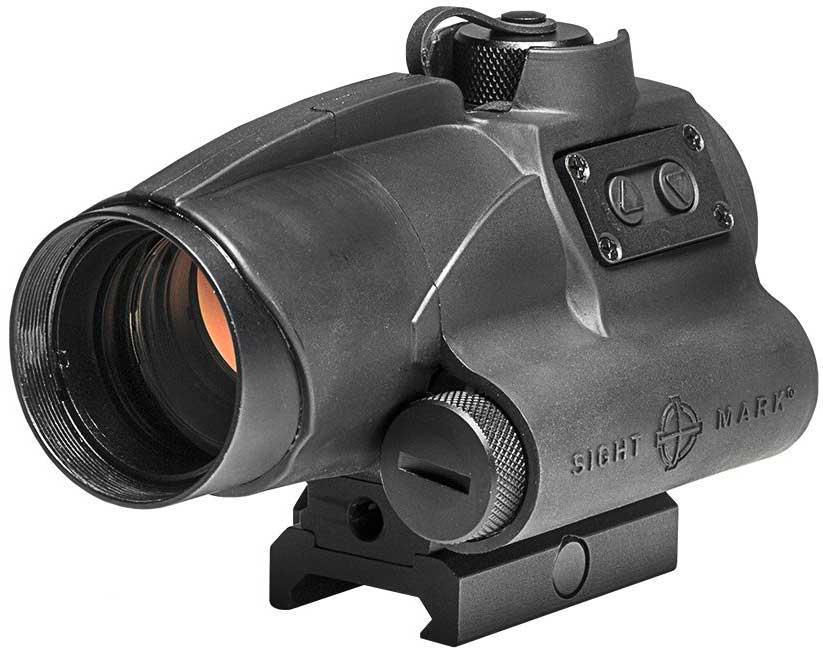 Прицел коллиматорный Sightmark Wolverine FSR, закрытый на Weaver/Picatinny, 2MOASM26020Коллиматор Sightmark Wolverine FSR закрытый на Weaver/Picatinny, марка - точка 2MOA, подсветка красная. Арт. SM26020 Компания Sightmark, США,Техас, Мэнсфилд впервые представила свою продукцию в 2007 году на SHOT Show. Основной целью компании является разработка и производство современной оптики и аксессуаров для охотников, спортсменов и стрелков. Кроме того, каждый продукт разработан для специализированного рынка, позволяя стрелкам получить больше высококачественных изделий для их огнестрельного оружия и пистолетов. Все коллиматорные прицелы Sightmark разработаны для ружей, винтовок и пистолетов. Коллиматорный прицел Sightmark Wolverine FSR выполнен из цельной заготовки авиационного алюминиевого сплава. Корпус коллиматора покрыт резиновой броней для защиты от механических повреждений. Данный коллиматорный прицел идеально подходит для короткоствольного огнестрельного оружия (дробовики, винтовки), позволяя вести точный прицельный огонь по быстродвижущимся объектам. ...