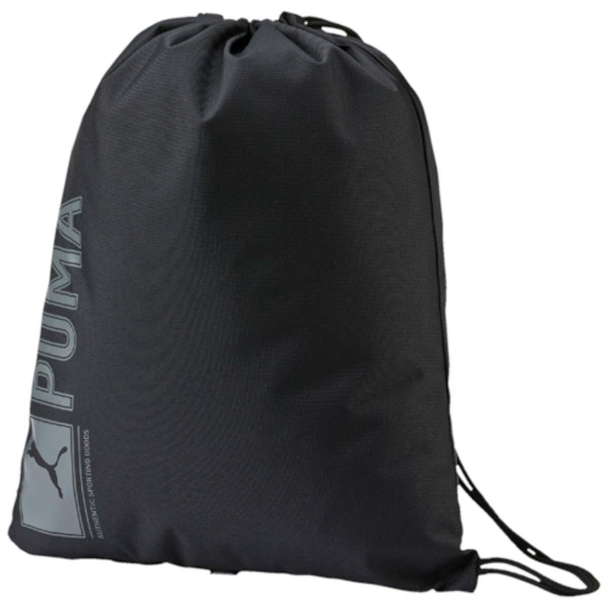 Рюкзак Puma Pioneer Gym Sack, цвет: черный. 07346801. 07346801