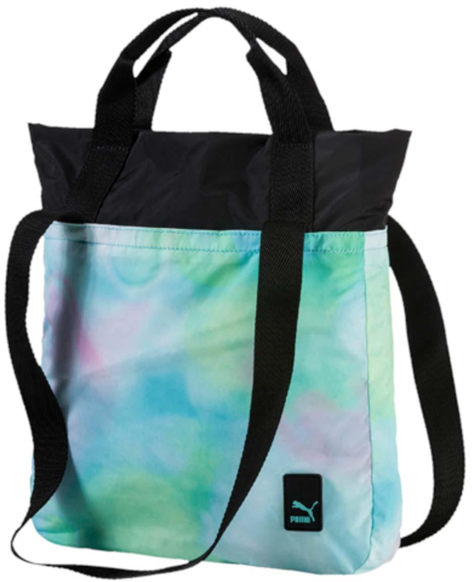 Сумка городская жен Puma Prime Shopper F, цвет: бирюзовый. 07457102, 7 л07457102