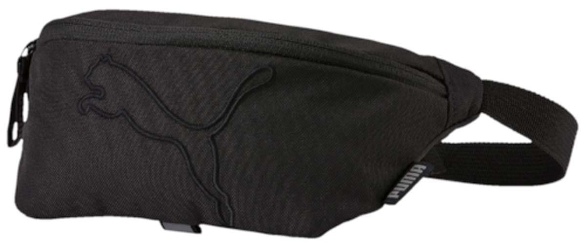 Сумка на пояс Puma Buzz Waist Bag, цвет: черный. 0735870107358701Сумка на пояс Buzz Waist Bag выполнена из прочного и износостойкого полиэстера, оснащена регулируемым ремнем с надежной застежкой. Спинка дополнена мягкой вкладкой для максимального удобства. Основное отделение и дополнительные карманы застегиваются на молнии.