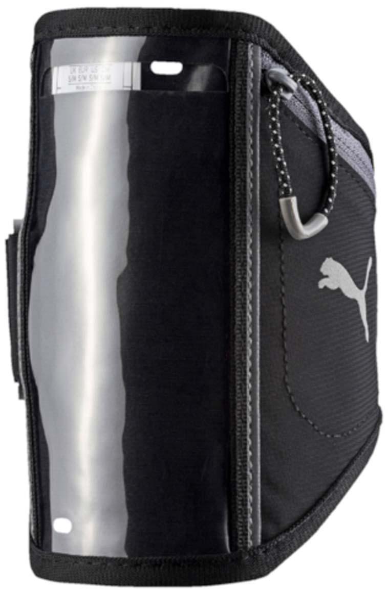"""Чехол для мобильных устройств Puma """"Pr I Sport Phone Armband"""", цвет: черный. 05314001. Размер S/M"""