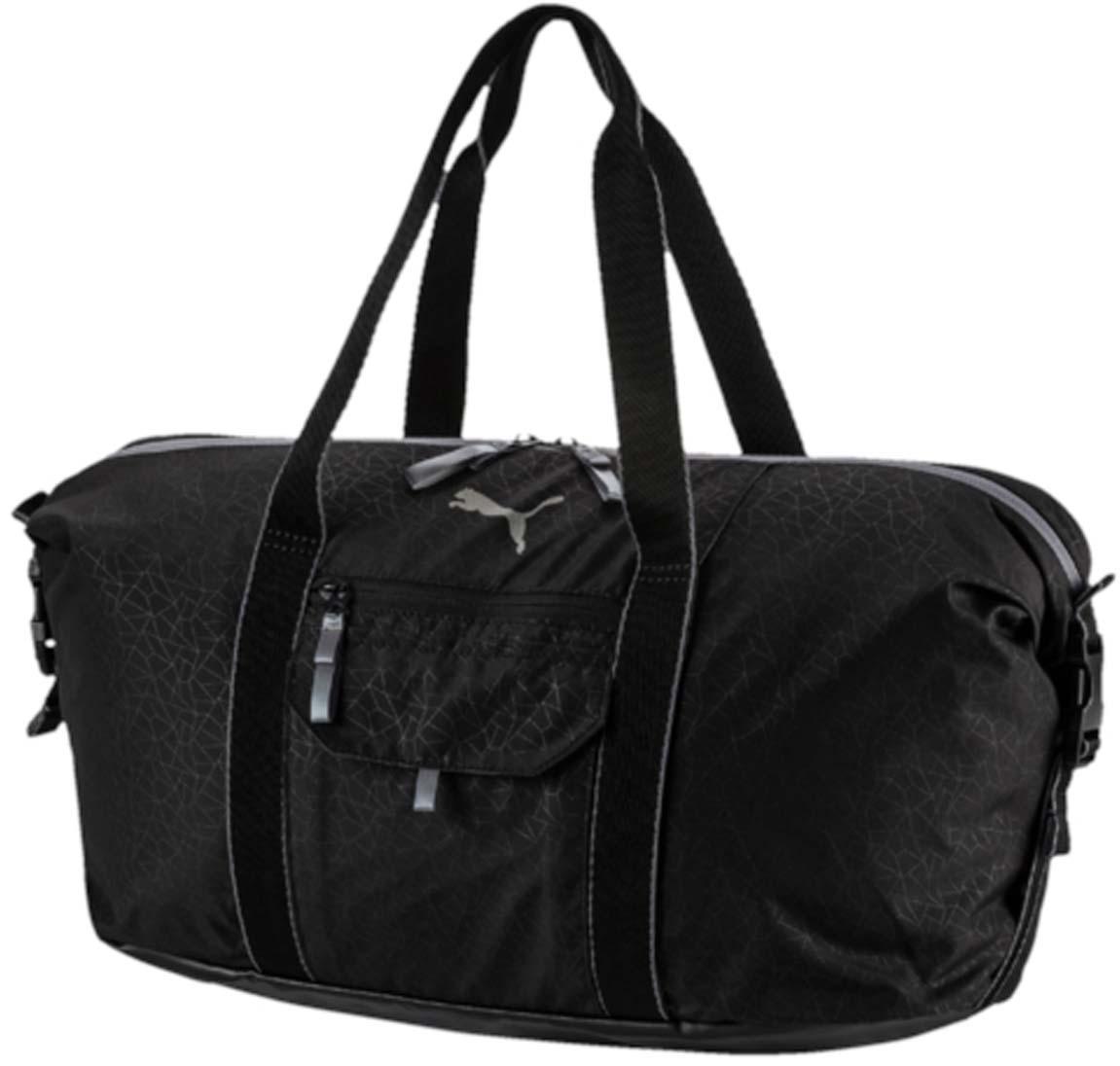 """Сумка спортивная женская Puma """"Fit At Workout Bag"""", цвет: черный. 07437401"""