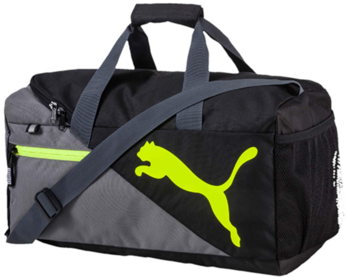 """Сумка спортивная Puma """"Fundamentals Sports Bag S"""", цвет: серый. 07349911"""