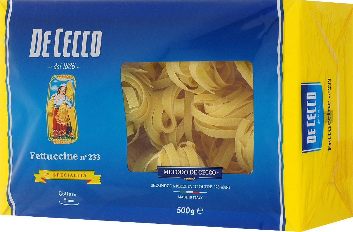 De Cecco паста феттучине №233, 500 г 8001250152336