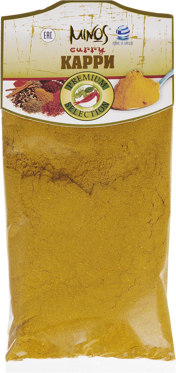 Minos Карри, 70 г17015Карри Minos является смесью различных пряностей. Ее основой является корень куркумы. Куркума наделена весьма выразительным ароматом, который прекрасно дополняет другие компоненты приправы карри - имбирь и кориандр. Смесь карри имеет ценнейший для организма набор витаминов: A, B1, B2, B12, C, E, K и минералов: магния, натрия, кальция, калия, цинка, железа. Представляя собой отличную комбинацию специй, эта приправа используется в кулинарии, в мясных блюдах, соусах, супах, овощах.