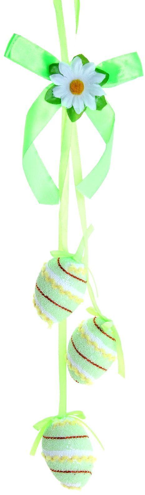 Сувенир пасхальное панно Яйцо. Яркая посыпка, длина 40 см. 918497918497Пасха – весенний праздник, в это время года природа пробуждается после долгой спячки и поражает своим великолепием и красками. Данный сувенир подойдёт для украшения квартиры, офиса, магазина и т.д. С его помощью для вас открываются сотни вариантов украшения праздничного пространства либо можно использовать его в качестве подарка.