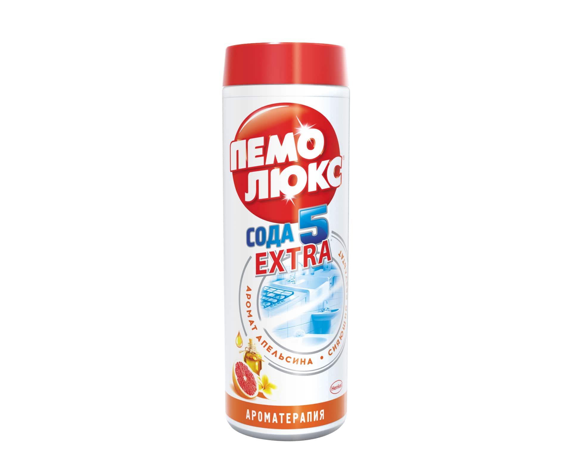 Универсальное чистящее средство Пемолюкс Аромат апельсина, 480 г935068Универсальное чистящее средство Пемолюкс Аромат апельсина обеспечивает 5 составляющих эффективной и безопасной уборки: - эффективность против жира и въевшейся грязи; - универсальное использование по всему дому; - бережное очищение разнообразных поверхностей; - безопасное средство без агрессивных химикатов; - аромат свежести и чистоты. Уникальная формула Пемолюкс с содой и мягким абразивом содержит эфирное масло апельсина, издавна используемое в ароматерапии. Яркий аромат апельсинового масла обладает тонизирующими свойствами, помогает улучшить настроение и эмоциональное состояние. Апельсиновое масло прекрасно устраняет неприятные запахи в доме. Средство не содержит вредных химикатов и подходит для чистки керамических, эмалированных, металлических и других твердых поверхностей на кухне, в ванной и в прочих помещениях. Не содержит хлор. Товар сертифицирован.