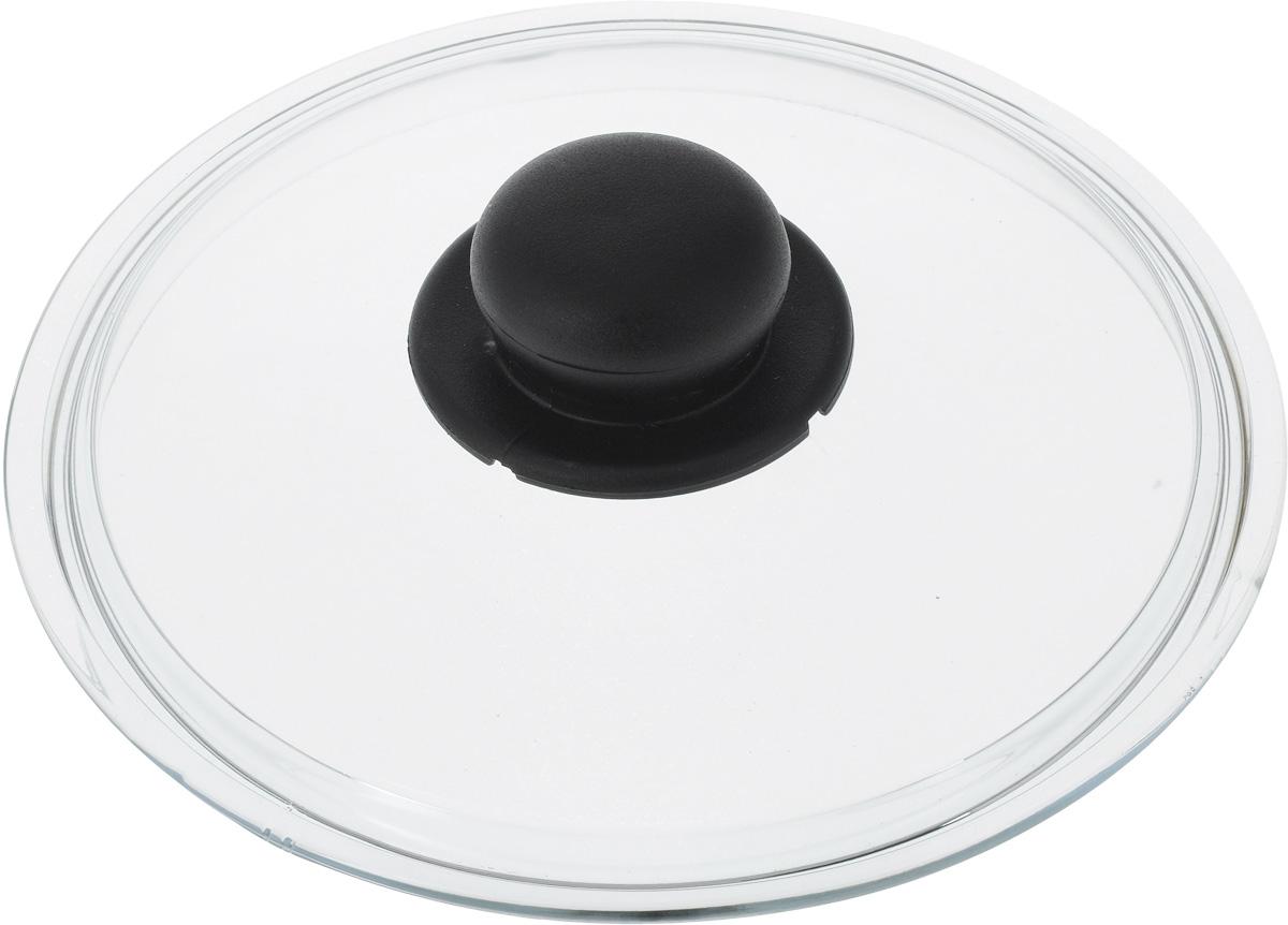 Крышка Ballarini. Диаметр 20 см. 334602.20334602.20Крышка Ballarini изготовлена из жаропрочного стекла и снабжена пластиковой ручкой. Изделие удобно в использовании и позволяет контролировать процесс приготовления пищи. Крышка пригодна для мытья в посудомоечной машине.