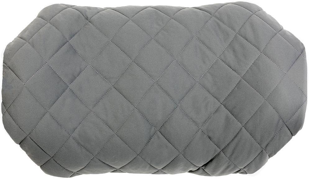 Надувная подушка Klymit Pillow Luxe Grey, цвет: серый12LPGY01DПолноразмерная подушка класса люкс создает комфорт домашнего уюта в путешествии. Для обычного туризма и туризма-лайт. В сложенном виде компактна. • Материал – полиэстер 75D с синтетическим чехлом • Надувается за 3-5 выдохов • Размер – 56 cm х 32 cm х 14 cm; в сложенном виде – 8 cm х 18 cm • Вес – 181 гр. • Цвет – серый • Гарантия – пожизненная