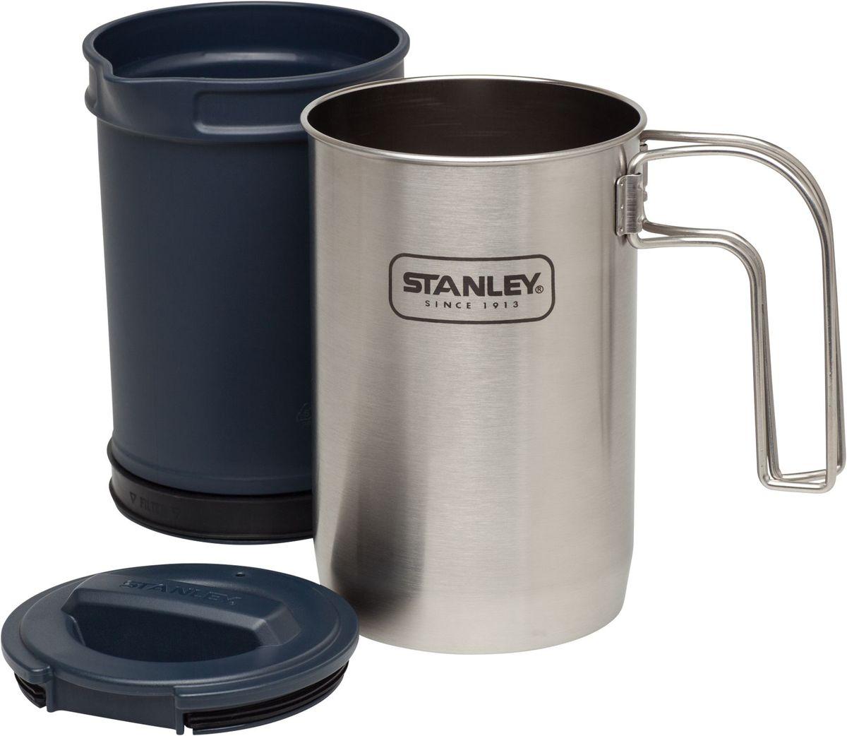 Мульти-набор Stanley Adventure 0,95L, цвет: стальной 10-02345-002
