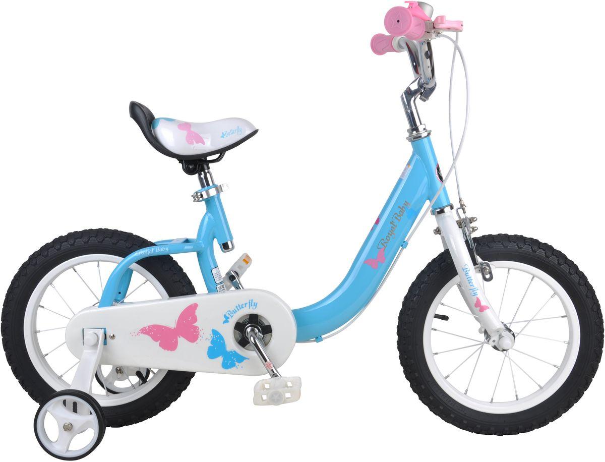 Велосипед детский Royal Baby Bull Dozer 12, цвет: голубойRB12-19 ГолубойRoyal Baby 12 – качественный велосипед достойный Вашего внимания! В основе велосипеда – прочная и высококачественная рама , покрытая гипоаллергенной и не выгорающей на солнце краской. Детский велосипед Royal Baby незаменим при езде по городским улицам, парковым зонам и пересеченной местности. Ваш малыш легко преодолеет высокую траву, песок и гравий. Руль и сиденье можно отрегулировать по высоте в зависимости от роста ребенка, что позволяет сделать поездку еще более комфортной. В комплекте поставляется звонок, держатель для бутылочек и дополнительные боковые колесики, которые научат малыша держать равновесие и через какое-то время - обходиться без них. Детский велосипед с приставными колесами. Стальная рама, надувные колеса, комплект задних приставных колес, ручной тормоз, звонок, регулируемое по высоте седло, регулируемый по высоте руль. Для возраста 3-5 лет, рост 95-110