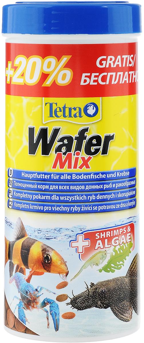 Корм сухой TetraWafer Mix для всех донных рыб и ракообразных, в виде пластинок, 300 мл198890Корм TetraWafer Mix - это сбалансированный, богатый питательными веществами корм высшего качества. Превосходное качество корма обеспечивает оптимальное питание ваших рыб. Сочетание двух разных пластинок обеспечивает разнообразие и оптимальное питание. Благодаря твердой консистенции пластинки не загрязняют воду. Рекомендации по кормлению: кормить несколько раз в день маленькими порциями. Уважаемые клиенты! Обращаем ваше внимание на возможные изменения в дизайне упаковки. Качественные характеристики товара остаются неизменными. Поставка осуществляется в зависимости от наличия на складе.