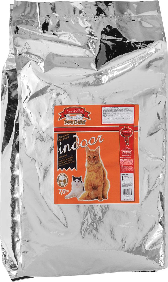 Корм сухой Franks ProGold для домашних и кастрированных кошек, с курицей, 7,5 кг25040Franks ProGold - это премиум корм для кошек, широко известный по всей Европе. Полноценный сбалансированный корм разработан специально для домашних и кастрированных кошек. Не содержит пшеницы, соевых добавок, ГМО. Характеристики: Состав: дегидрированное мясо курицы, рис, маис, ячмень, жир домашней птицы, гидролизованная печень домашней птицы, гидролизованный белок, пищевая целлюлоза (мин. 5%), мякоть свеклы, минералы и витамины, дрожжи, яичный порошок, кукурузная мука, рыбий жир, фруктоолигосахариды (мин. 0,5%), лецитан (мин. 0,5%), экстракт юкки, холинхлорид, карбонат кальция, дегидрированное мясо домашней птицы, хлорид натрия, таурин, витамин Е, витамин C. Пищевая ценность: белки 28,0%, жиры 14,0%, клетчатка 5,5%, зола 6,5%, влажность 8,0%, фосфор 1,0%, кальций 1,1%, натрий 0,6%, магний 0,09%. Добавки на 1 кг: Витамин-A 22000 МЕ/кг, витамин-D3 2000 МЕ/кг, витамин-E 400 мг/кг, витамин-C 40 мг/кг, медь (сульфат меди пентагидрат) 2,8 мг/кг, таурин 1600...