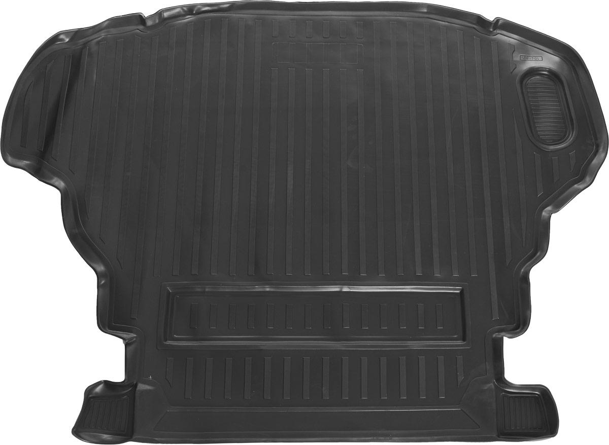 Коврик автомобильный Rival, для Toyota Camry 2011-2014, 2014-, в багажник, 1 шт0015701003Автомобильный коврик в багажник Rival позволяет надежно защитить и сохранить от грязи багажный отсек на протяжении всего срока эксплуатации. Коврик полностью повторяет геометрию багажника вашего автомобиля. - Высокий борт специальной конструкции препятствует попаданию разлившейся жидкости и грязи на внутреннюю отделку. - Коврик произведен из первичных материалов, в результате чего отсутствует неприятный запах в салоне автомобиля. - Рисунок обеспечивает противоскользящую поверхность, благодаря которой перевозимые предметы не перекатываются в багажном отделении, а остаются на своих местах. - Высокая эластичность материала позволяет беспрепятственно эксплуатировать коврик при температуре от -45°C до +45°C. - Коврик изготовлен из высококачественного и экологичного материала, не подверженного воздействию кислот, щелочей и нефтепродуктов.