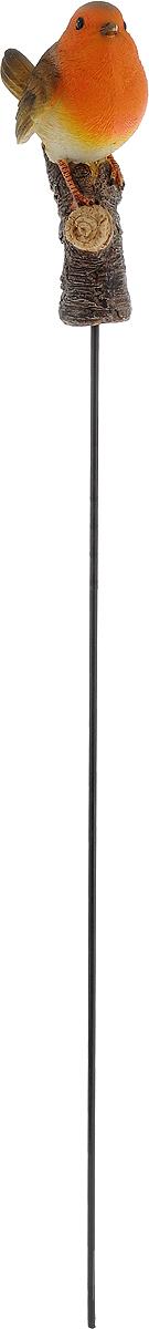Фигурка декоративная Elsa Снегирь, садовая, 8 х 4,8 х 13 смBJ092460-G2Фигурка Elsa Снегирь, выполненная из полистоуна, предназначена для декоративного оформления дома и сада. Фигурка позволит создать правдоподобную декорацию и почувствовать себя среди живой природы. Фигурка Снегирь станет отличным подарком вашим друзьям и близким.В комплекте к фигурке прилагается металлический штырь, с помощью которого можно установить фигурку в саду. Длина штыря: 49 см.