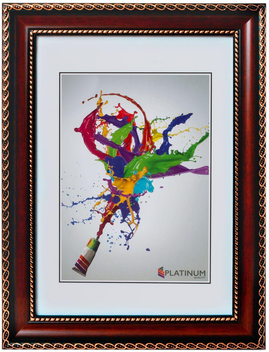 Фоторамка Platinum Верчелли, цвет: бордовый, 15 x 21 смPlatinum 8131 ВЕРЧЕЛЛИ-БОРДОВЫЙ 15x21