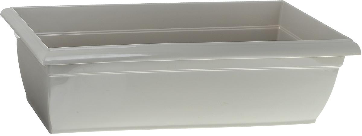 Ящик балконный Santino, цвет: песочный, 58,5 х 18 х 15 смЯБ 600 ПЕБалконный ящик Santino изготовлен из высококачественного цветного полипропилена. Изделие предназначено для выращивания цветов и рассады как на балконе, так и в комнатных условиях. Размер ящика: 58,5 х 18 х 15 см.