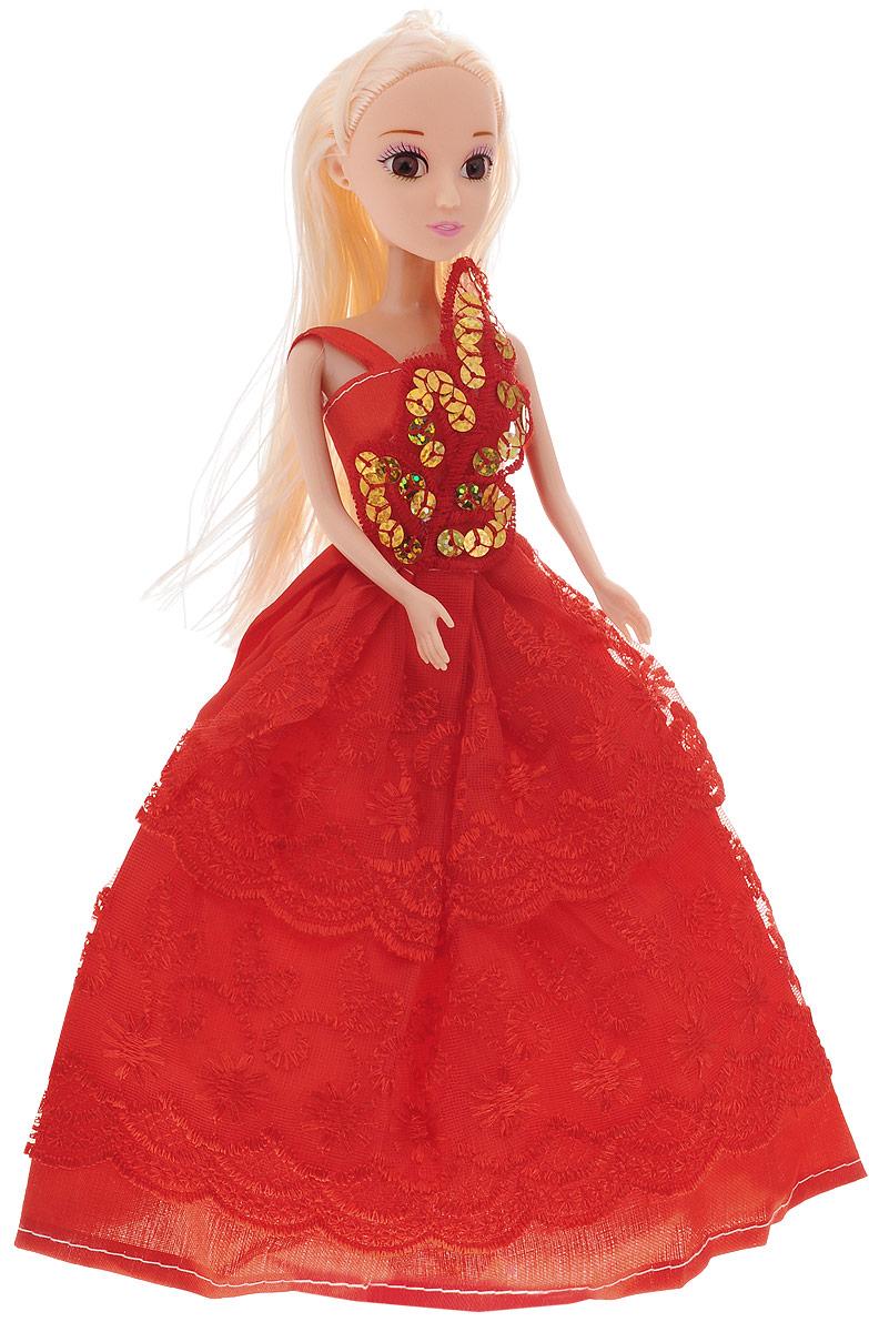 Veld-Co Кукла Принцесса цвет платья красный