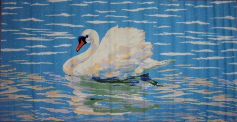 Ковер МАС Розетта. Лебедь, 100 х 200 см15937/лебедьВлагонепроницаемый коврик на резиновой основе подойдет для любого интерьера в гостиной, ванной или прихожей. Легко моется и чистится.