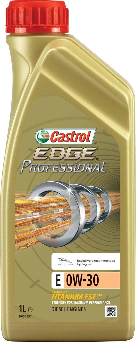 Моторное масло EdgeProfessional E 0W-30, 1 л15801DПолностью синтетическое моторное масло Castrol EDGE Professional произведено с использованием новейшей технологии TITANIUM FST™. Технология TITANIUM FST™ на физическом уровне меняет поведение масла Castrol EDGE PROFESSIONAL в условиях экстремальных нагрузок. Основой технологии TITANIUM FST™ являются полимерные металлоорганические соединения, содержащие титан. Таким образом, титан становится компонентом масла и работает в унисон с технологией усиленной масляной плёнки Fluid Strength Technology (FST™), которая была внедрена в 2011 году. Испытания подтвердили, что TITANIUM FST™ в 2 раза увеличивает прочность масляной плёнки, предотвращая её разрыв и снижая трение для максимальной производительности двигателя. Используя опыт сотрудничества с автопроизводителями, мы применили такую же технологию, которая ранее использовалась только при производстве масла для конвейерной заливки. Моторное масло Castrol EDGE Professional прошло многоуровневую микрофильтрацию. Контроль качества осуществляется...