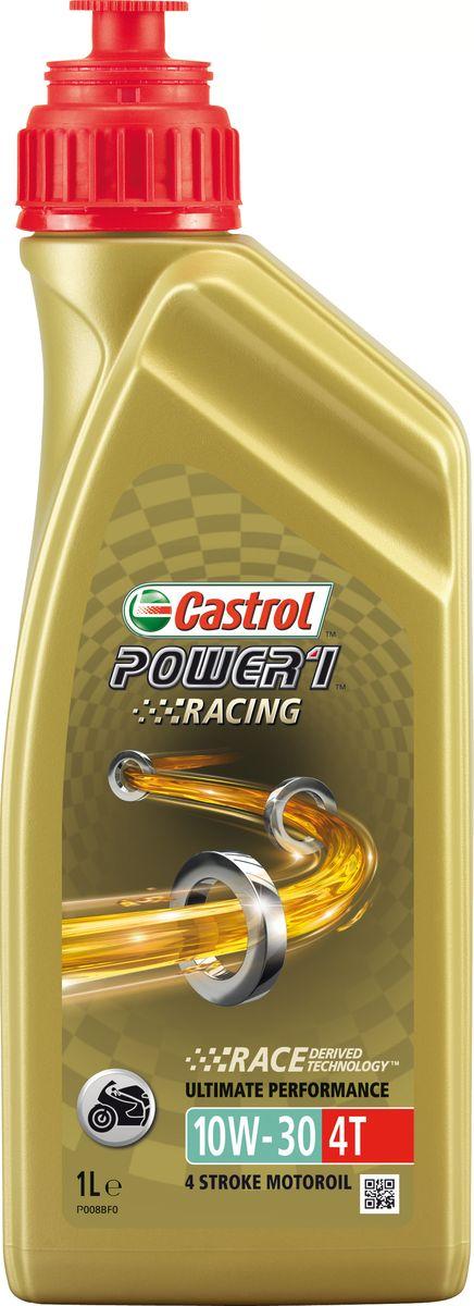 """Моторное масло Power 1 Racing 4T 10W-30, 1 л15A0BECastrol Power 1 Racing 4T 10W-30 – полностью синтетическое моторное масло для современных 4-тактных спортивных мотоциклов высокой мощности, способствующее повышению интенсивности разгона и мощности двигателя вплоть до максимальных оборотов. Castrol Power 1 Racing 4T 10W-30 создано с использованием разработки """"Race Derived Technology"""", основанной на многолетнем и успешном опыте Castrol участия в гонках. Быстро циркулирует в системе смазки двигателя и сохраняет прочность смазочной плёнки, одновременно снижая внутренние потери на трение, даже в самых жёстких условиях эксплуатации. Специально разработано для байкеров, получающих удовольствие от езды на грани возможного. Испытаниями доказано, что Castrol Power 1 Racing 4T 10W-30 способствует реализации максимальной мощности двигателя и исключительно быстрому разгону уже при минимальном повороте ручки газа. Применение разработки Castrol """"Trizone Technology™"""" обеспечивает бескомпромиссную защиту деталей мотора, сцепления и зубчатых передач...."""