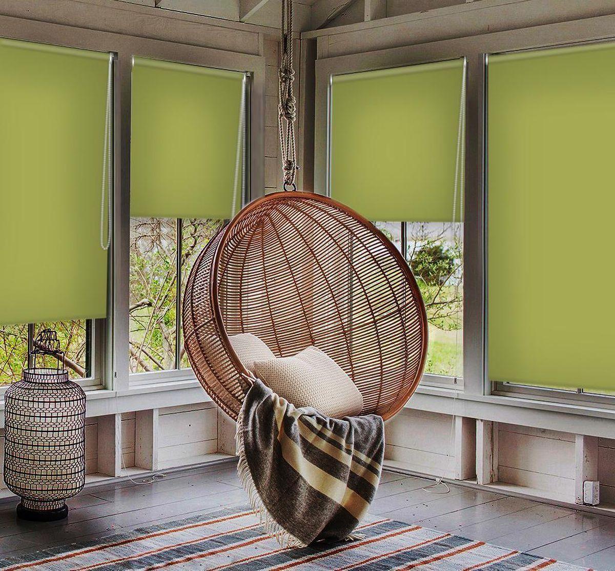 Штора рулонная Эскар Миниролло. Blackout, светонепроницаемая, цвет: оливковый, ширина 57 см, высота 170 см34080057170Рулонными шторами можно оформлять окна как самостоятельно, так и использовать в комбинации с портьерами. Это поможет предотвратить выгорание дорогой ткани на солнце и соединит функционал рулонных с красотой навесных. Преимущества применения рулонных штор для пластиковых окон: - имеют прекрасный внешний вид: многообразие и фактурность материала изделия отлично смотрятся в любом интерьере; - многофункциональны: есть возможность подобрать шторы способные эффективно защитить комнату от солнца, при этом она не будет слишком темной. - Есть возможность осуществить быстрый монтаж. ВНИМАНИЕ! Размеры ширины изделия указаны по ширине ткани! Во время эксплуатации не рекомендуется полностью разматывать рулон, чтобы не оторвать ткань от намоточного вала. В случае загрязнения поверхности ткани, чистку шторы проводят одним из способов, в зависимости от типа загрязнения: легкое поверхностное загрязнение можно удалить при помощи канцелярского ластика; чистка от пыли производится сухим методом при...