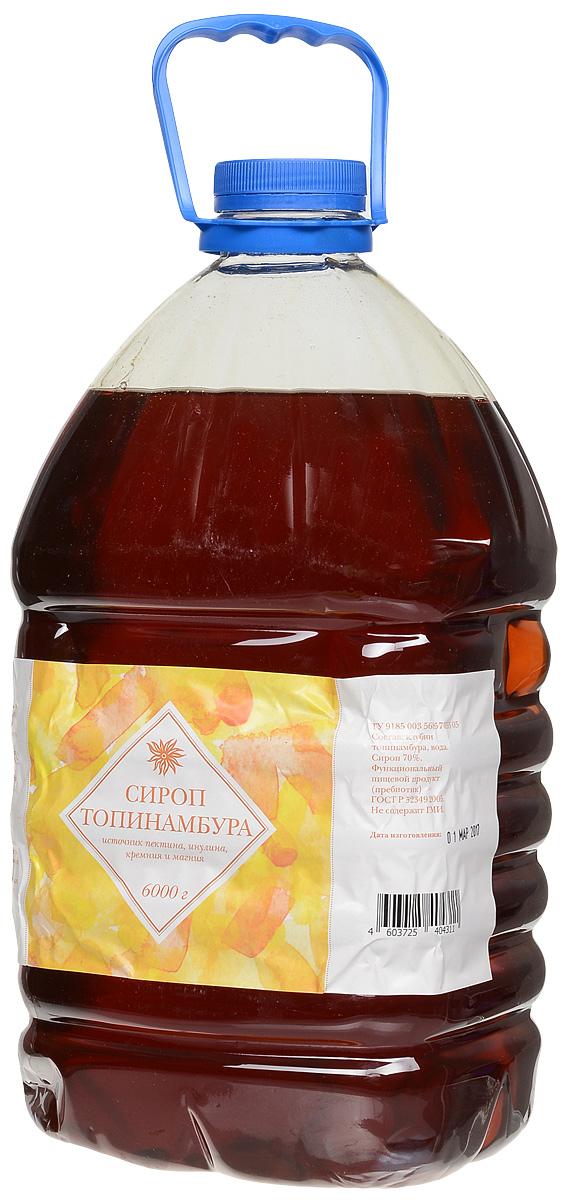 Seryogina сироп топинамбура без лимонного сока, 6 л1300Сироп топинамбура изготавливается без добавления сахара и фруктозы, а натуральный лимонный сок придает ему лёгкую кислинку. Не обладает ярко выраженным ароматом, поэтому широко используется во многих блюдах и напитках. Сироп удобно и просто применять в кулинарных целях: он легко растворяется в воде. По вкусу напоминает очень молодой жидкий цветочный мед, насыщенного янтарного цвета.