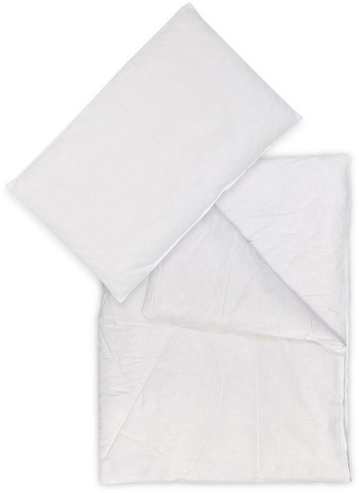 Сонный гномик Комплект в кроватку 2 предмета цвет белый 062