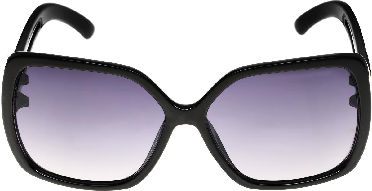 Очки солнцезащитные женские Vittorio Richi, цвет: черный. ОС4136c10-637-1/17fОС4136c10-637-1/17fОчки солнцезащитные Vittorio Richi это знаменитое итальянское качество и традиционно изысканный дизайн.