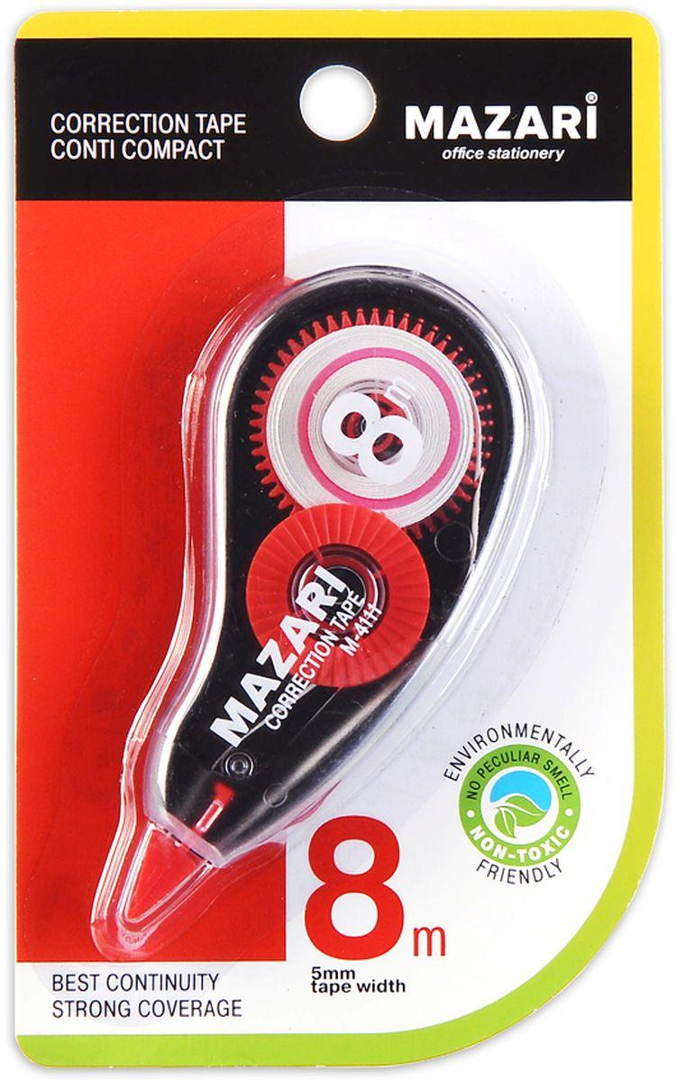 Mazari Корректирующая лента-роллер Conti Compact 5 мм x 8 мМ-4111Корректирующая лента-роллер CONTI COMPACT, 5ммХ8м