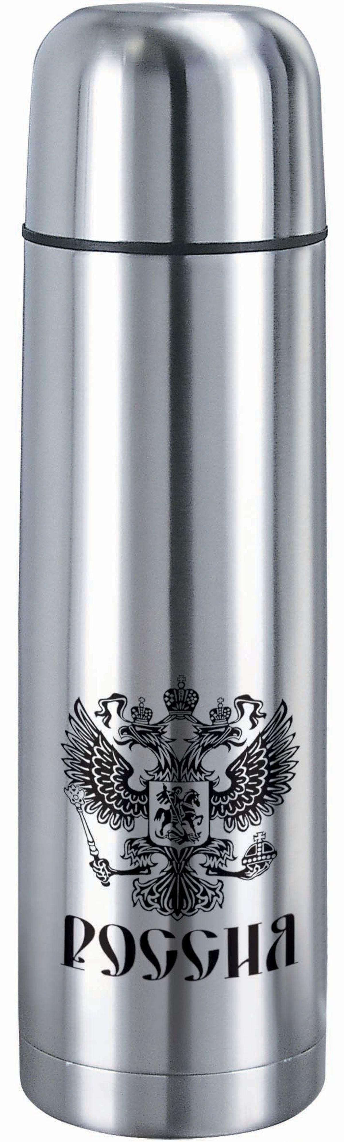 Термос Bekker, 0,5 л. BK-4117BK-4117Объем 0,5л, вакуумная кнопка, двойные стенки с вакуумом, крышка-чашка. Состав: нержавеющая сталь 18/8.