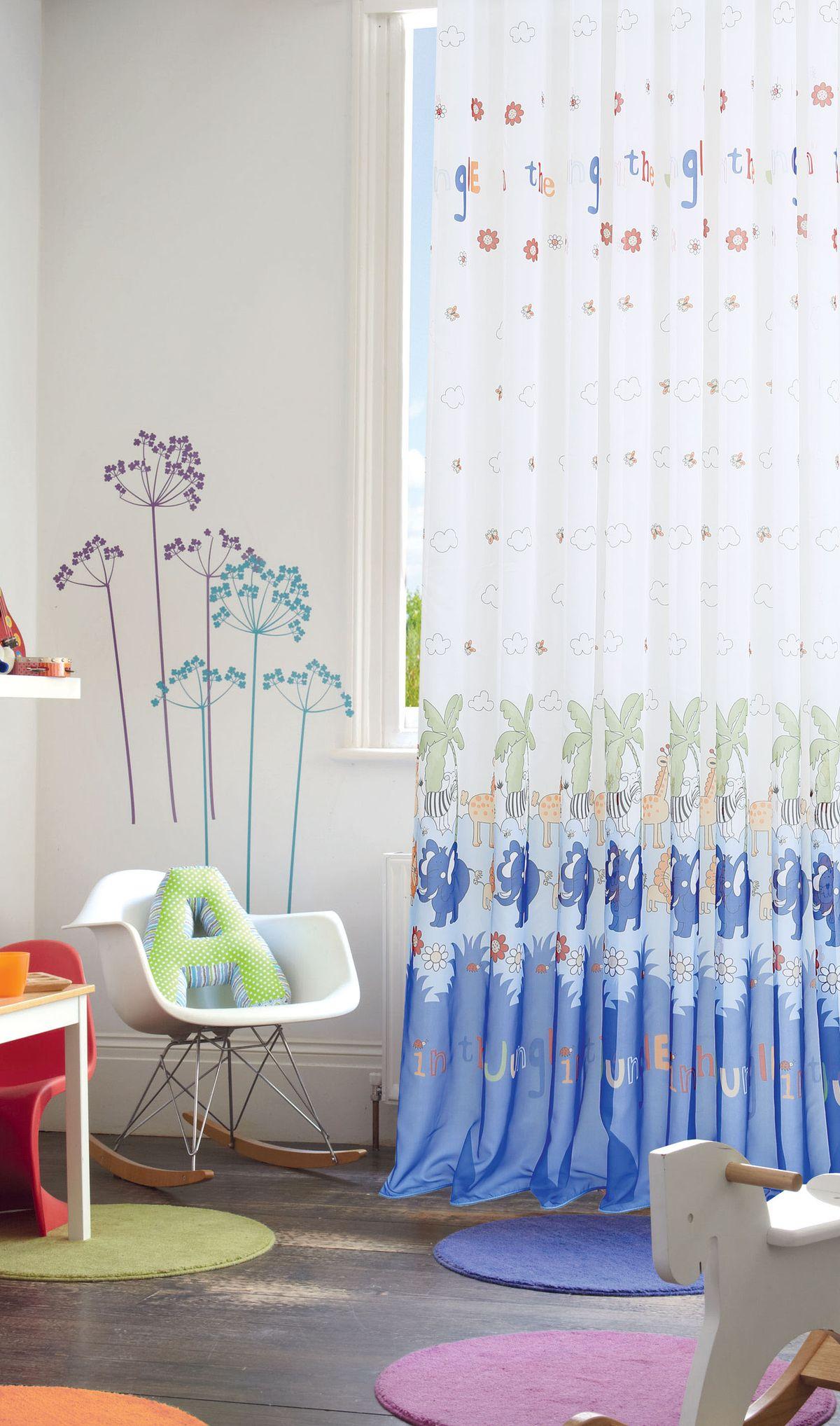 Штора готовая Garden, на ленте, цвет: синий, 300х270 см. С 9169 - W191 V14С 9169 - W191 V14Изящная штора для детской комнаты Garden выполнена из легкой ткани с оригинальной структурой. Приятная текстура и цвет штор привлекут к себе внимание и органично впишутся в интерьер помещения. Штора крепится на карниз при помощи ленты, которая поможет красиво и равномерно задрапировать верх.