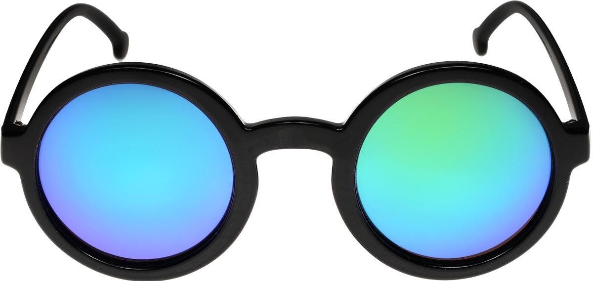 Очки солнцезащитные женские Vittorio Richi, цвет: черный, синий. ОС9038c10-464-/17fОС9038c10-464-/17fОчки солнцезащитные Vittorio Richi это знаменитое итальянское качество и традиционно изысканный дизайн.