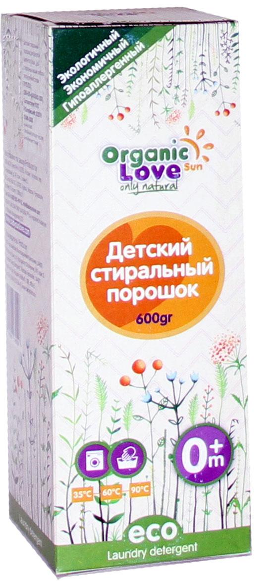 Organic Sun Love Детский стиральный порошок 600 грPS600Обеспечивает высокое качество стирки при малом расходе порошка. Не вызывает аллергии и раздражений. Произведен только из натурального сырья. Содержит более 30% натурального мыла. Не содержит фосфатов, хлора, цеолитов, а-пав, искусственных ароматизаторов. Обладает легким запахом натурального мыла, который полностью. Исчезает после полоскания. Защищает от накипи. Не наносит вред окружающей среде. •