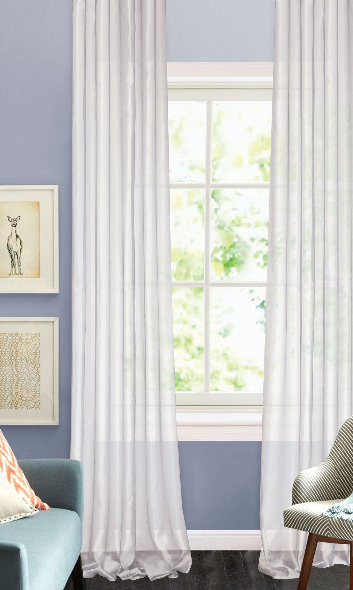 Штора готовая Garden, на ленте, цвет: бледно-сиреневый, 450х270 см. С W875 450х270 V30С W875 450х270 V30Изящная штора для гостиной Garden выполнена из легкой ткани с оригинальной структурой. Приятная текстура и цвет штор привлекут к себе внимание и органично впишутся в интерьер помещения. Штора крепится на карниз при помощи ленты, которая поможет красиво и равномерно задрапировать верх.
