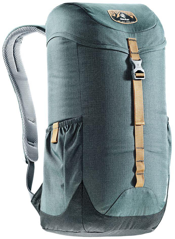 Рюкзак Deuter Walker 16, цвет: серый, черный, 16 л3810517_4750- спинка Airstripes для великолепной вентиляции - очень комфортные, эргономичные, с мягкими краями плечевые лямки - отделение для документов - карабинчик для ключей - боковые карманы с эластичным, растягивающимся краем - внутренний карман для ценных вещей Вес: 520 г Объем: 16 л Размеры: 46 x 26 x 19 см