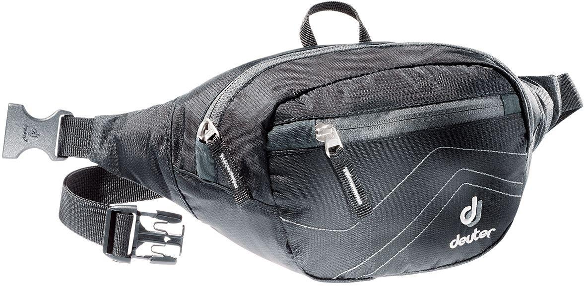 Сумка поясная Deuter Belt I, цвет: серый, черный39004_7520Все необходимое под рукой и надежно защищено поясной сумке Deuter Belt: кошелек, путеводитель, солнечные очки, мобильный телефон. Стильные цвета, спортивный дизайн. Аккуратные, компактные и легкие. Особенности: - центральное отделение - внутренний сетчатый карман на молнии - передний карман на молнии - регулируемый поясной ремень - крючок для ключей Объем: 1,5 л. Размер: 29х15х7 см. Вес: 11 г.