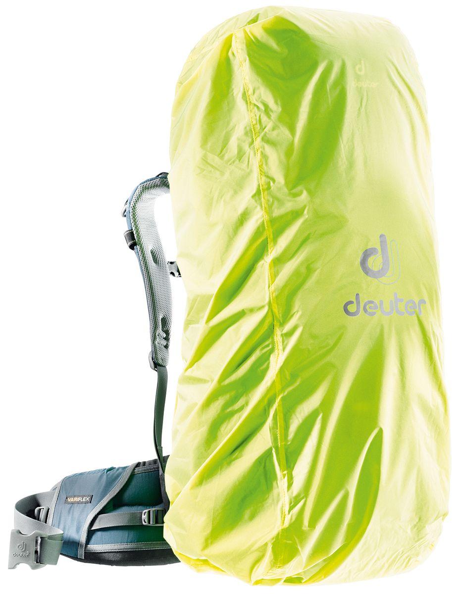 Чехол от дождя Deuter Raincover III, цвет: желтый, 45-90 л39540_8008Чехлы от дождя ярких неоновых цветов гарантируют, что ваш рюкзак и его содержимое останется сухим даже после проливного дождя. Отличная влагозащита благодаря полиуретановому покрытию и швам, проклеенным лентой. Подходит для рюкзаков объемом 45-90 л. Вес: 130г. Размер: 97x37x30 см.