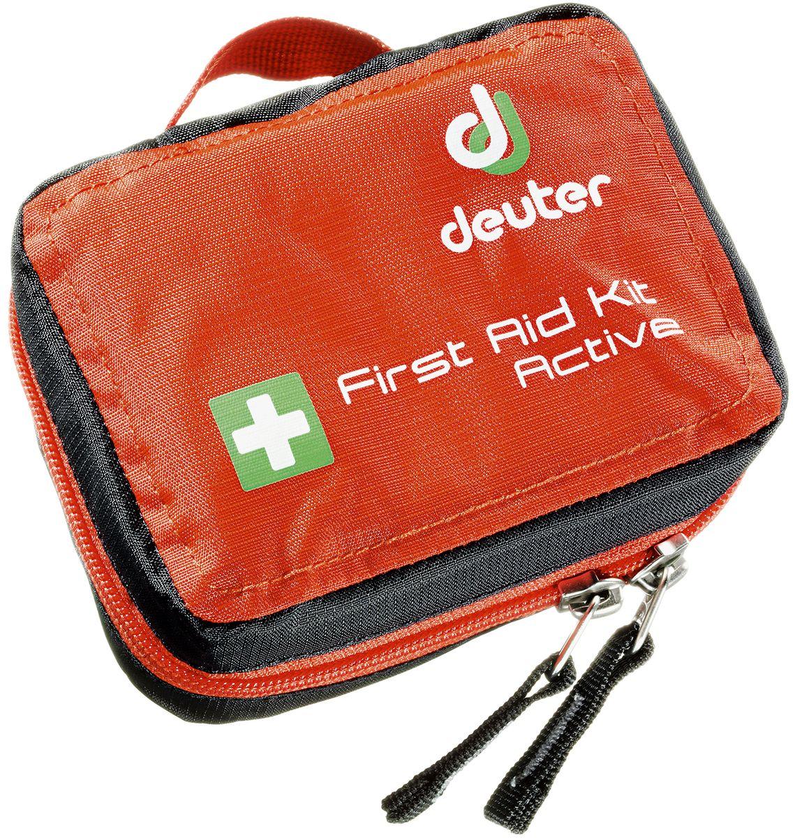 Аптечка Deuter First Aid Kit Pro, цвет: красный4943216_9002В аптечку Deuter First Aid Kit Pro вместится хорошо укомплектованный аварийный комплект. Вы можете поместить туда пинцет для клещей, ножницы, многочисленные бинты, также достаточно карманов для индивидуальных лекарств. - быстрый доступ к всему содержимому благодаря круговой молнии - инструкции по оказанию первой помощи - раскладной карман - петля для поясного ремня - ручка для переноски - SOS лейбл - Материал: Ripstop-Nylon - Вес: 360 g - Размеры: В x Ш x Г: 16 x 18 x 8 см